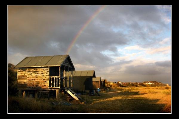 Rainbow Hut by FatHandedChap