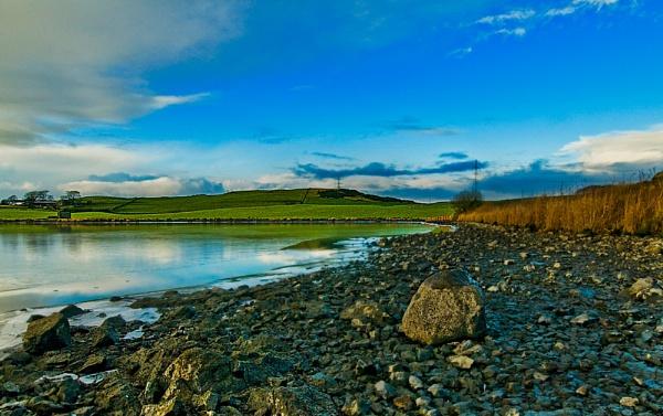 Walten Dam. by Richardtyrrelllandscapes