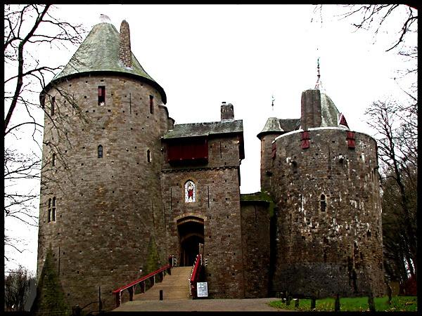 Red Castle by KarenFB