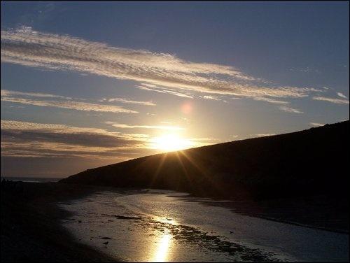 Sunset at Crantock by StuTheGoofball