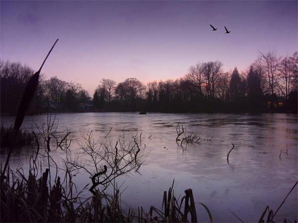 Frozen Sunset by _estel_