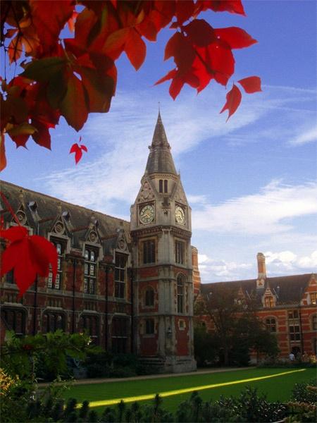 Pembroke College Clock Tower by _estel_