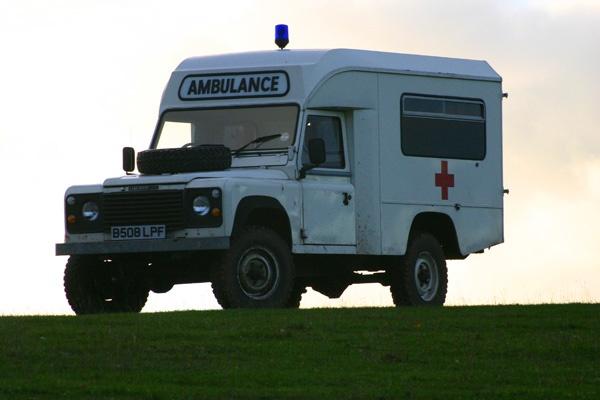 Ambulance by peter shilton