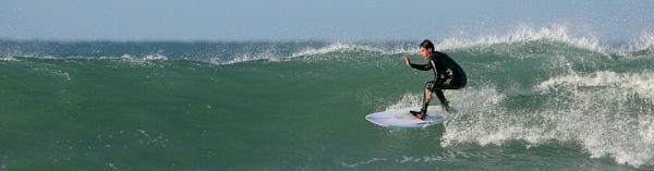 winter surf December by ZenTog