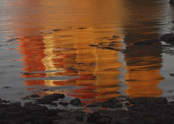 Forth Bridge Reflections by albyn