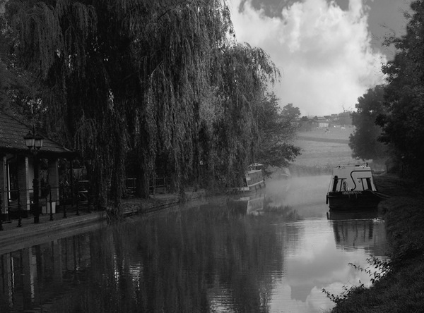 MISTY BARGES by ringyneck