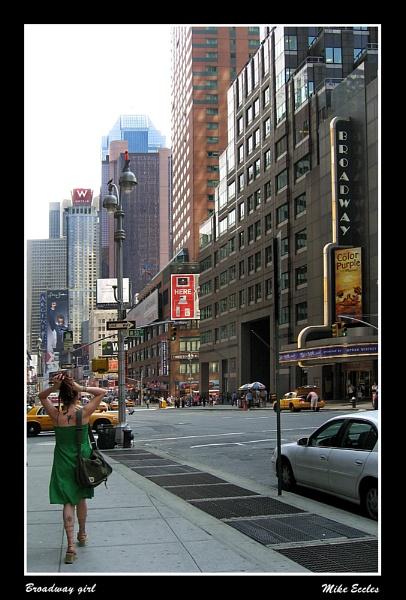 Broadway girl by oldgreyheron