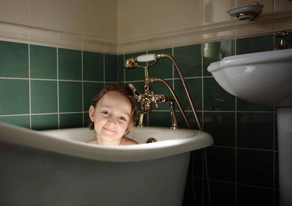 Bathtime by Curtain