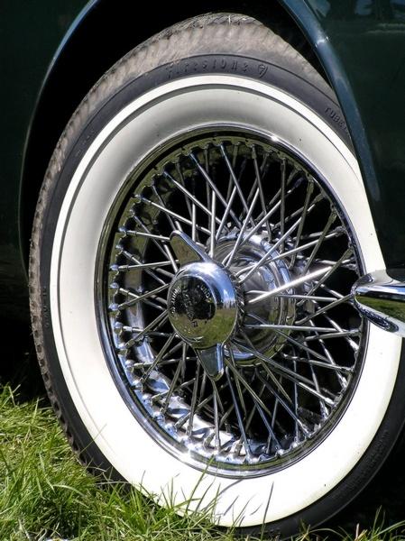 classic car wheel by wenphoto