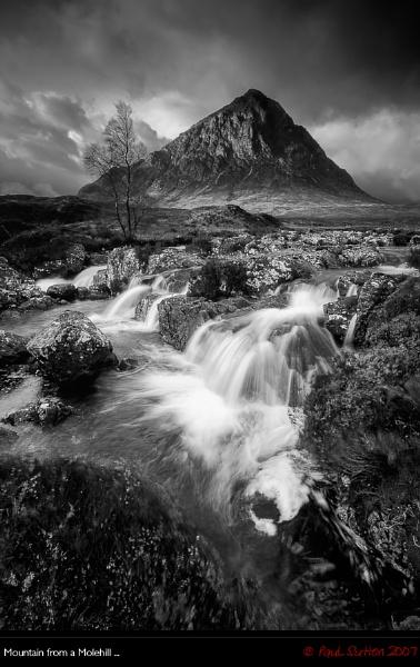 Mountain from a Molehill ... Mono by sut68