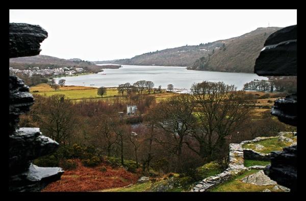 Llanberis from Dolbadarn Castle by MarkBroughton