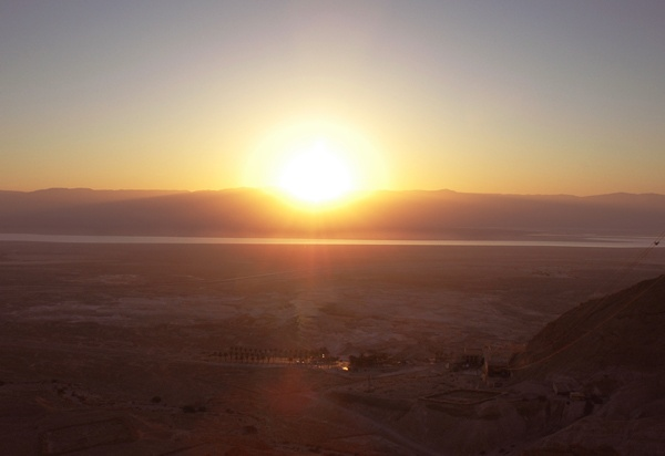 Sunrise over Jordan by Taran