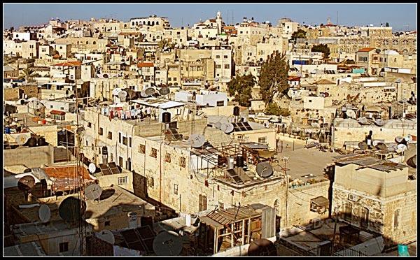 Jerusalem roofview by Taran
