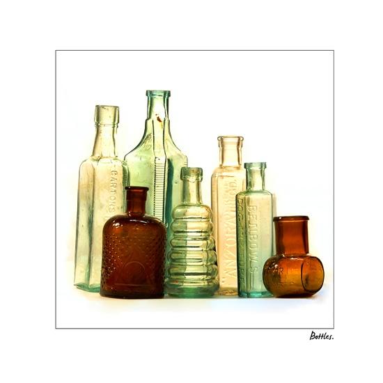 Bottles by ddunn