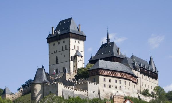 Karlstein Castle by RabBower