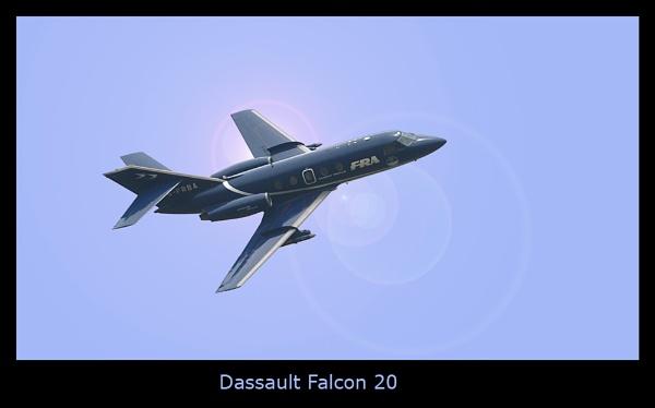 Falcon 20 by ferguspatterson