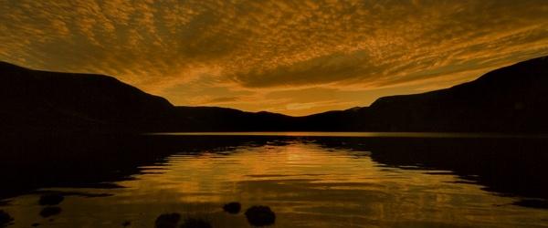 LOCH MUICK AT SUNSET by JASPERIMAGE