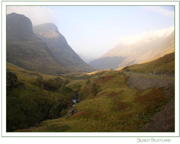 Sunlit Scotland by danielle1987