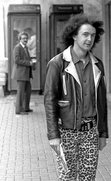 Leopardskin trousers by imagio