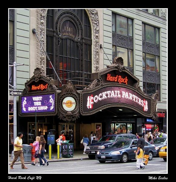 Hard Rock Cafe NY by oldgreyheron