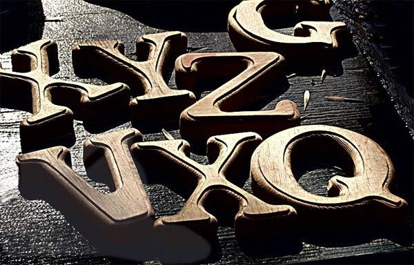 Alphabet by arkay