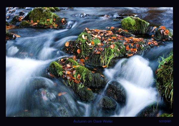 Autumn on Oare Water by sospan
