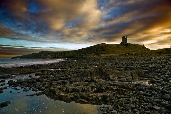 Dunstanburgh Castle by JGCurry