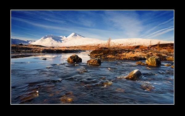 Winter, Rannoch Moor. by johnc1711