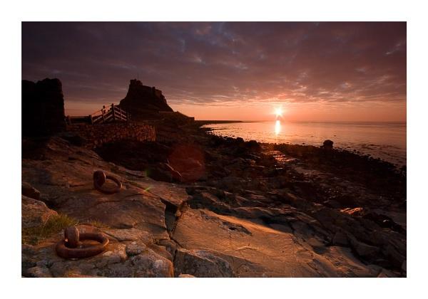 Lindisfarne Morning by ewanrayment