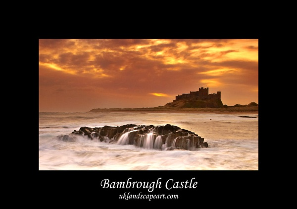 Bambrough Castle by toonboy