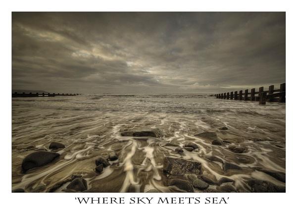 WHERE SKY MEETS SEA by angej