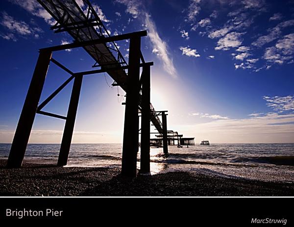 West Pier by Strobe