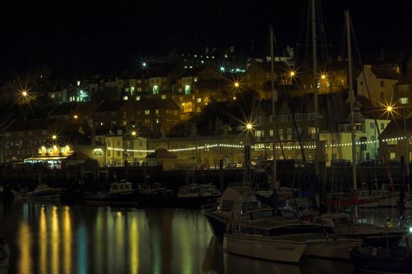 Mooring at night by ZakBlack