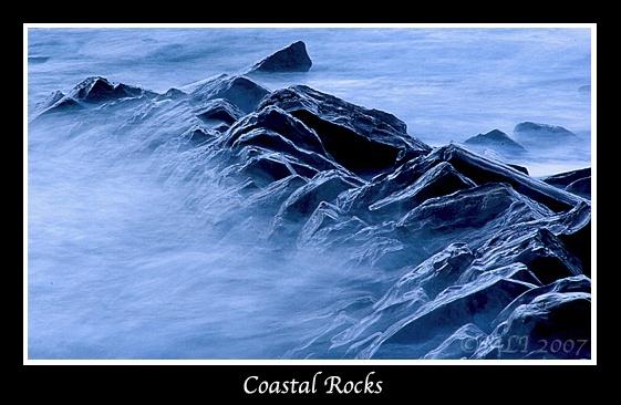 Coastal Rocks by mialewis