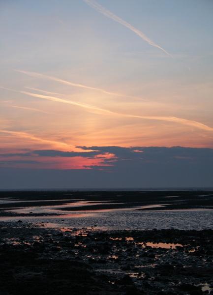Sunset On North Beach by rowarrior
