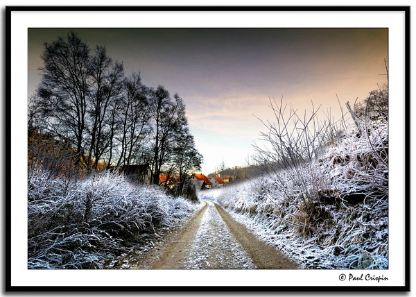 The Frosty Path by ducatirider