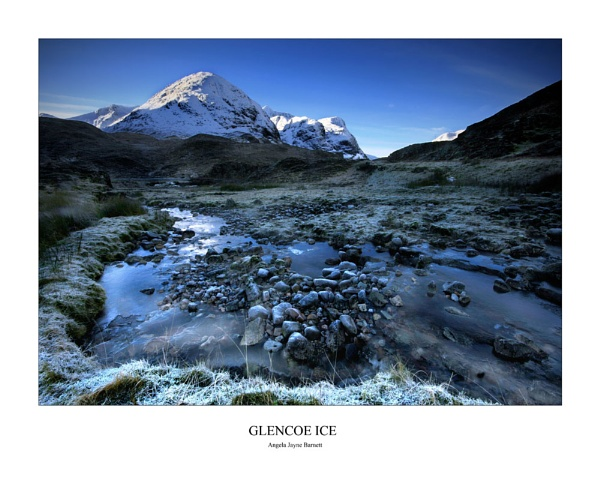 Glencoe Ice by AngieLatham