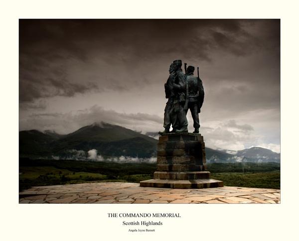 Commando Monument by AngieLatham