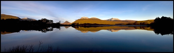 Inverpoly panorama... by Scottishlandscapes