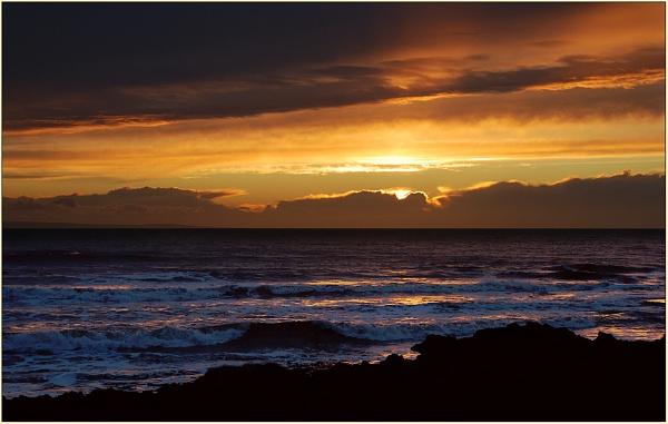 Evening, Porthcawl by TelStar