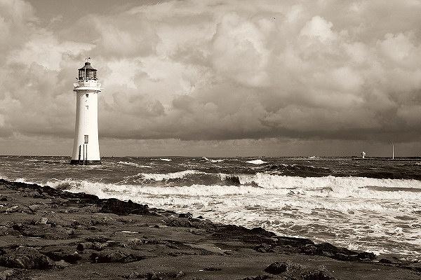 Lighthouse scene by PaulSR