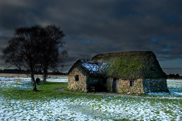Leanach Cottage by RobinChapman