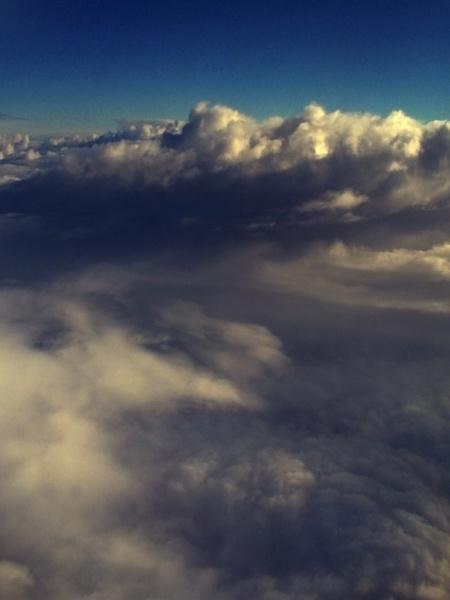 Clouds At 30000 Feet by chensuriashi