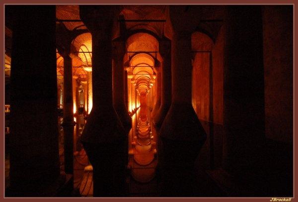 Basilica Cistern by justbrock