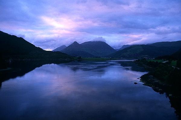Loch Creran by freddos