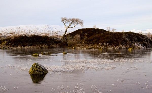 Rannoch Moor at dusk by rowarrior
