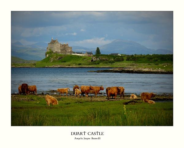 Duart Castle by AngieLatham