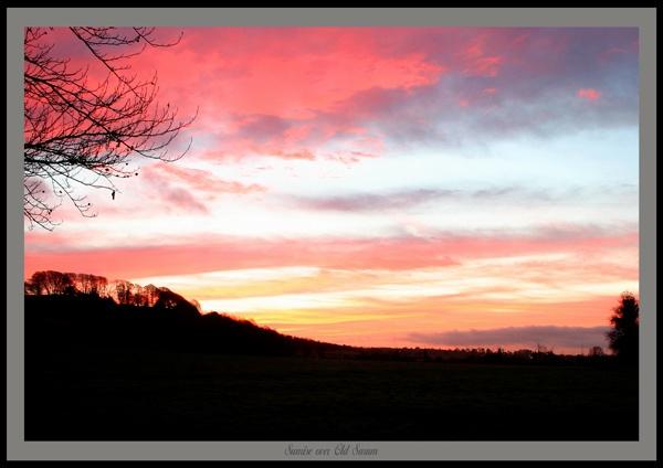 Old Sarum Sunrise by rodp