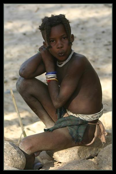 Himba Girl by Nita