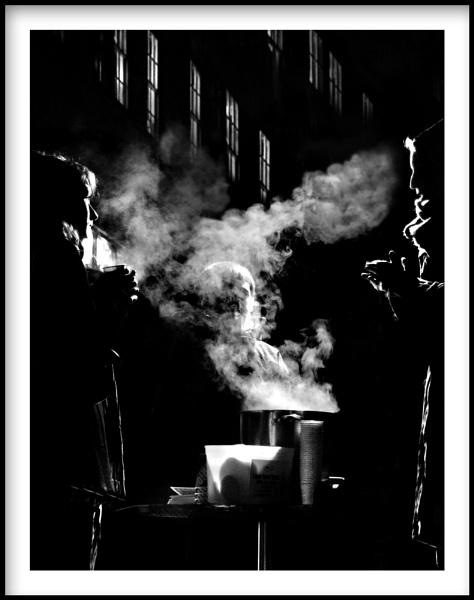 Nightly Street Scene by Menzabac